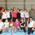 Victoire des files de P6 au tournoi de Netball du Brabant