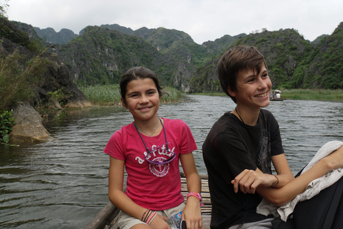 Vers le nord : Hué, Tam Coc , Halong