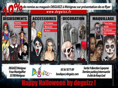 réduction halloween 2016