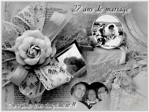 27ans de mariage aujourd'hui  !!!!!!!!!!!!!!!!