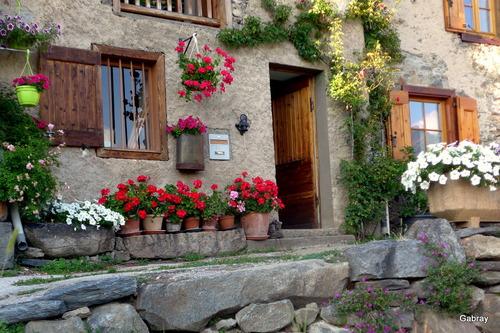 Ascou: promenade dans le village