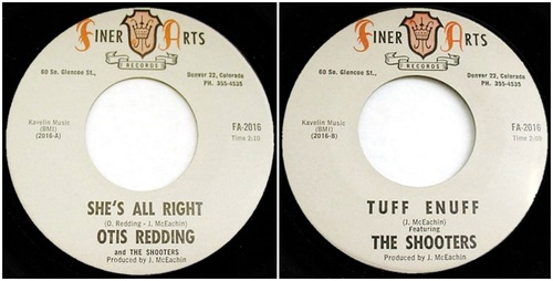 OTIS REDDING FIRST SINGLE