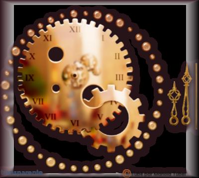 Tube Horloge Steapunk 2999