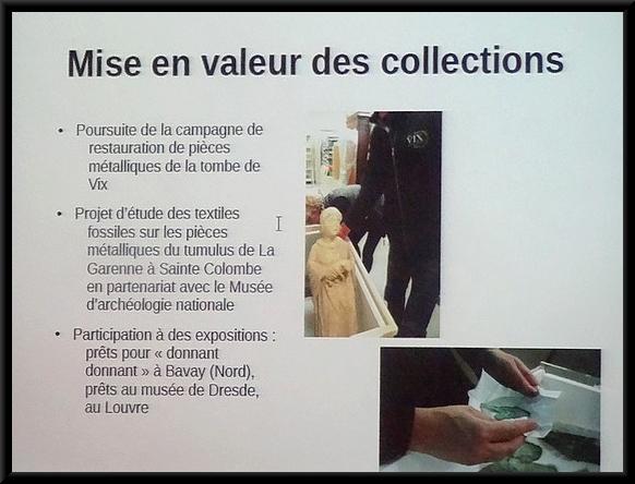 Programme pour 2017 des animations au Musée du Pays Châtillonnais-Trésor de VIx