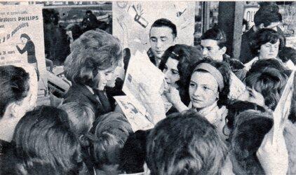 Avril 1963 : Sheila au CNIT !