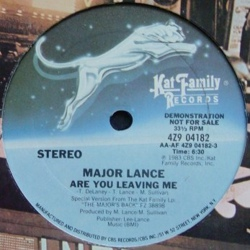 Major Lance - Are You Leaving Me