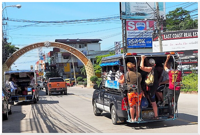 Transports en Thaïlande.