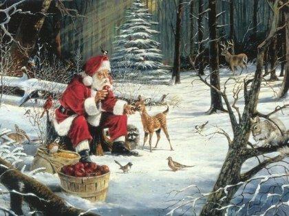 Quelques poésies pour Noël, Hiver, Jour de l'An