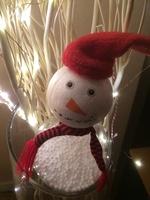 Boule bonhomme de neige