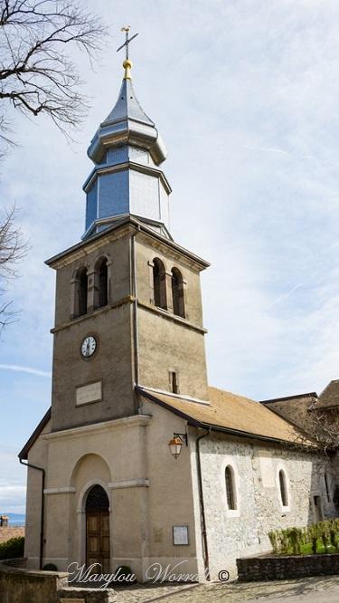 Pays de Savoie : Yvoire l'église 4/6