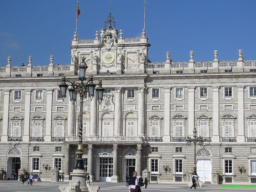 la capitale Madrid