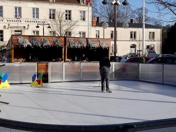 La patinoire de Châtillon sur Seine a eu un grand succès !