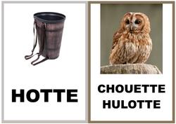 Mots en OTE et OTTE