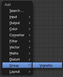 Dans le menu d'ajout (Shift + A) aller sur Group