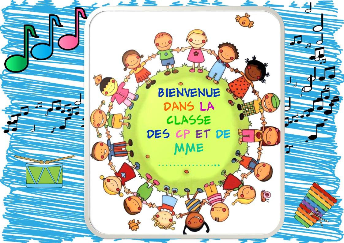 Bevorzugt AFFICHE PORTE DE CLASSE - La classe de Corinne ZX54