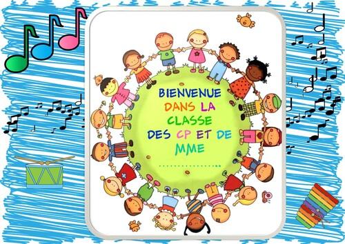AFFICHE PORTE DE CLASSE