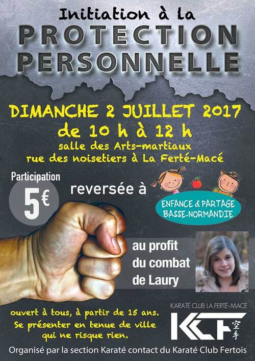 STAGE DE PROTECTION PERSONNELLE