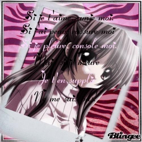 L Amour En Mangas Fille Garcon
