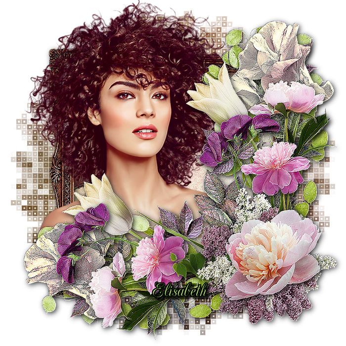 "Ma réalisation du tuto ""Blooming romance"""
