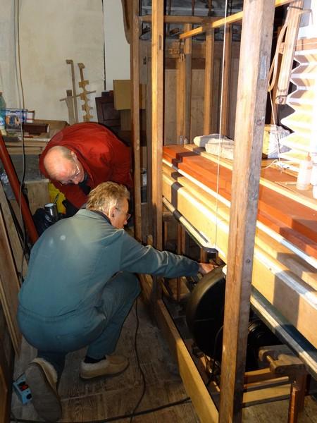 La restauration de l'orgue de Molesme est terminée !