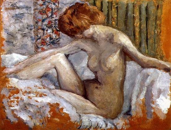 Pierre Bonnard, Marthe nue sur son lit