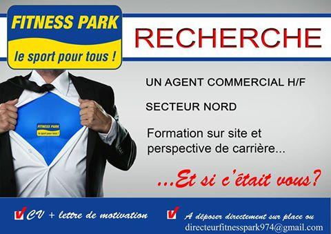 FITNESS PARK RECHERCHE UN COMMERCIAL