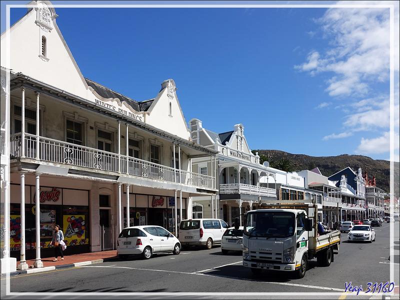 L'architecture à tendance flamande de Simon's Town - Afrique du Sud