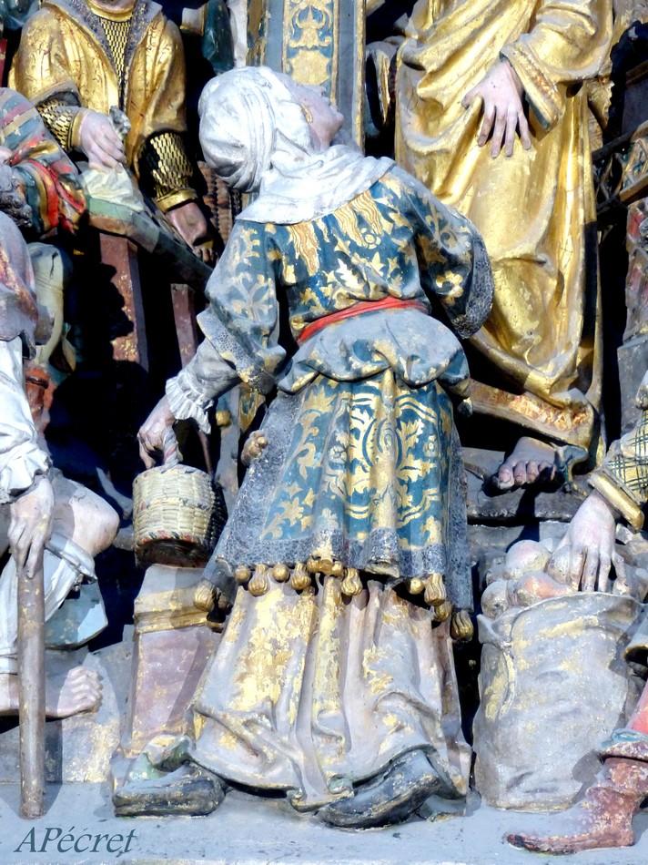 Quelques Dames dans la Cathédrale d'Amiens