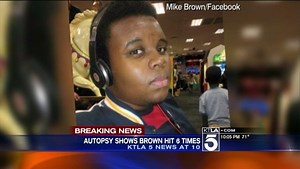 Autopsy Reveals Michael Brown Was Shot at Least 6 Times, Twice In Head: Report