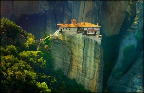 Le Monastère de Roussanou