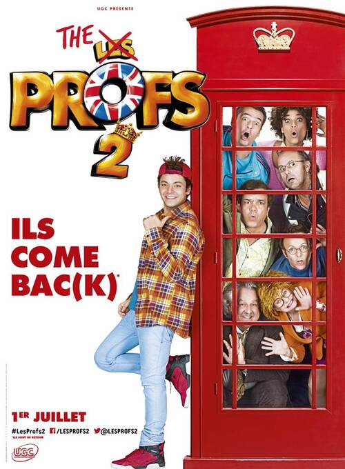 Les Profs 2  // L'affiche teaser // 1er Juillet 2015 au cinéma
