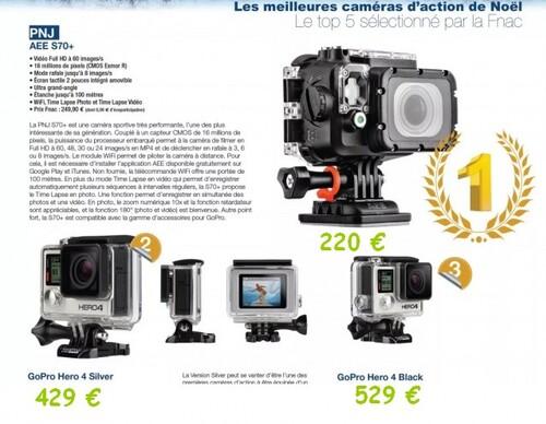 Caméra PNJ  AEE S 70