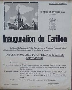 Genèse du nouveau carillon - Description