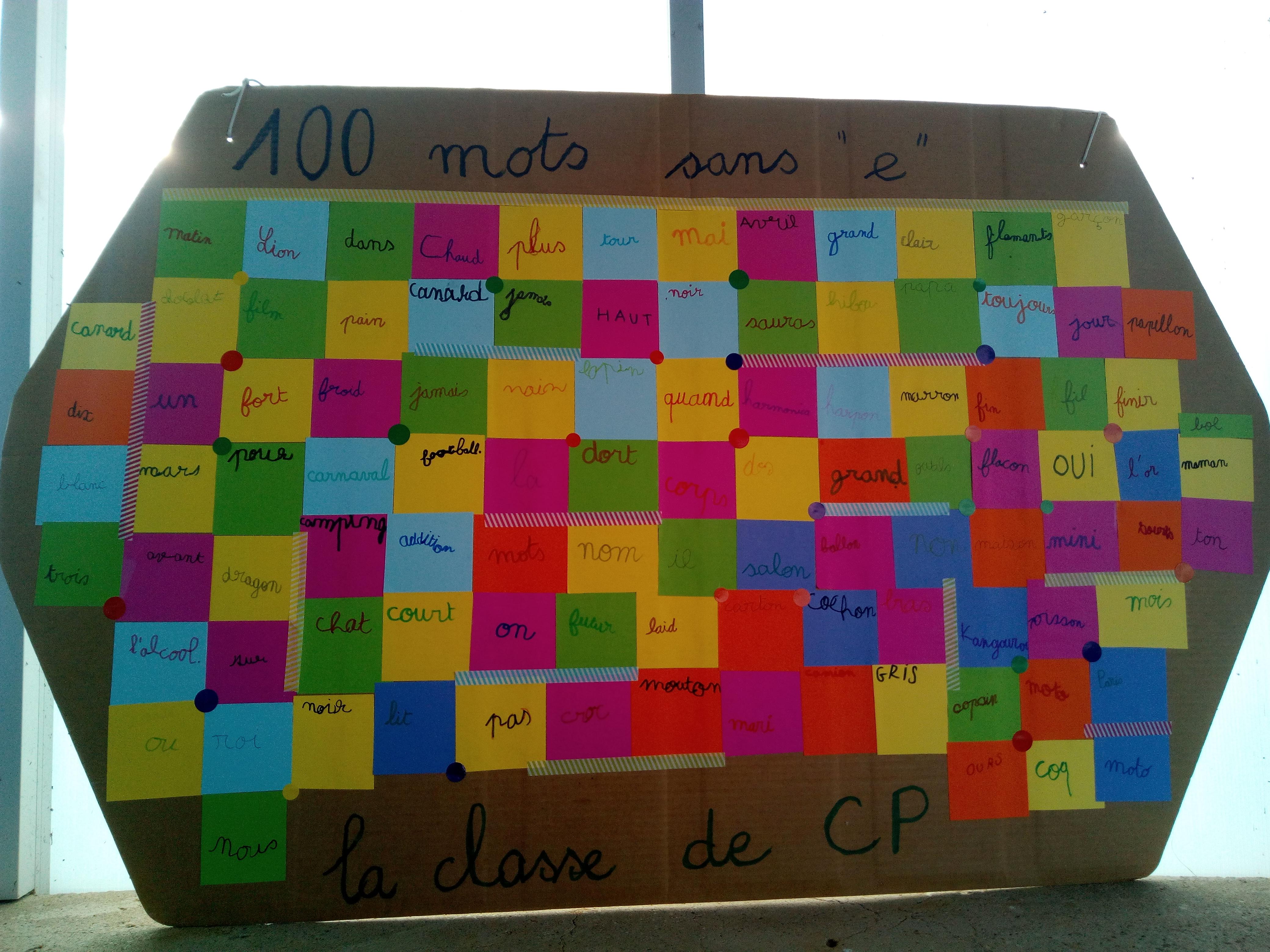 100e jour de classe