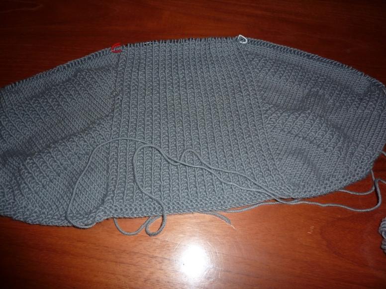Un nouveau tricot : un châle....