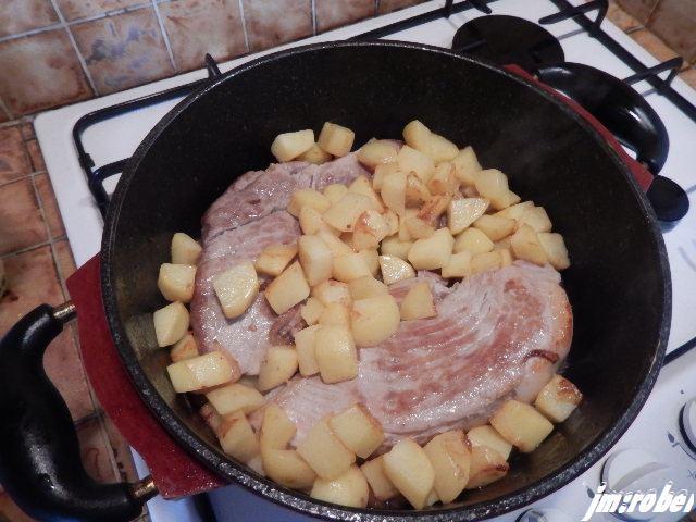 Recette; Rouelle de porc en cocotte mijotée
