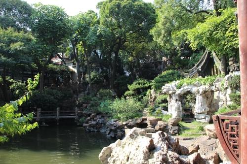 Le jardin du mandarin Yu à Shanghaï