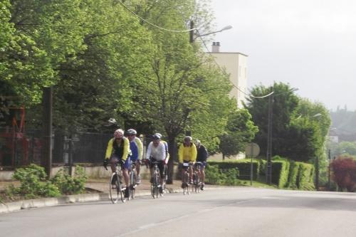 Rencontre avec des cyclistes