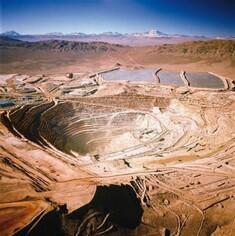 Découvrez les mines de cuivre incroyables au Chili