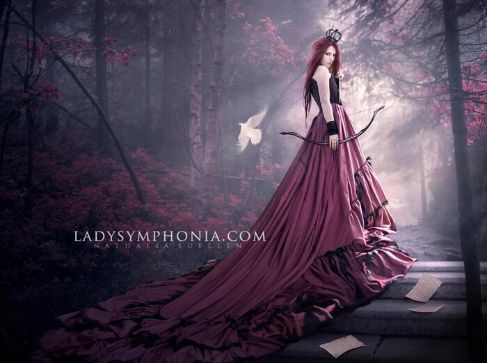 Lady Symphonia, artiste
