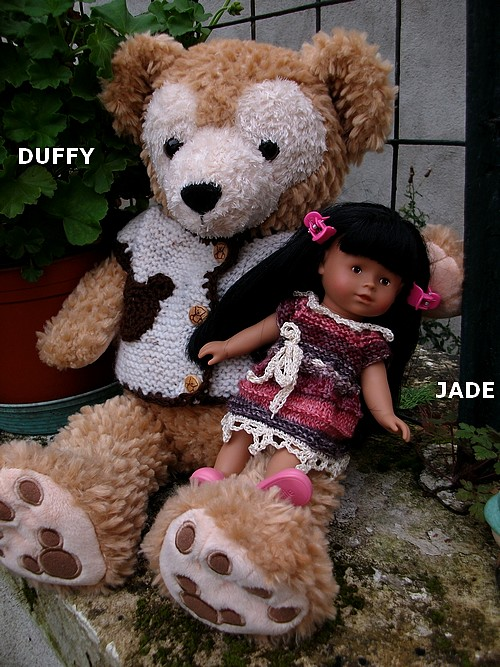 JADE et sa petite robe romantique !
