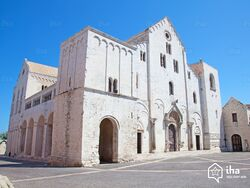 Basilique San Nicola à Bari en Italie
