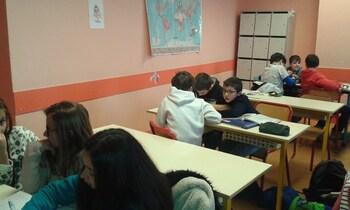 """Atelier """"Fables"""" au collège - 08/02/18"""