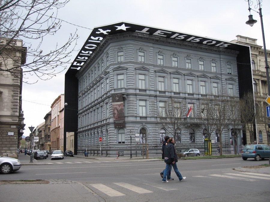 Siège des Services secrets de Hongrie