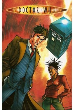 Couverture de Doctor Who (Comics), tome 1 : Agent Provocateur