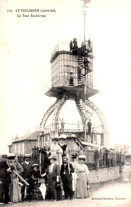 1910 Le Pouliguen, une attraction