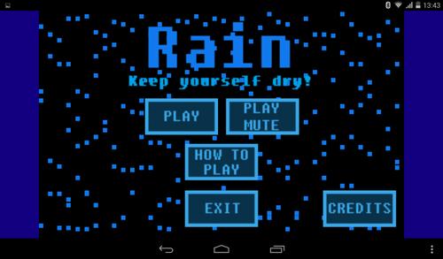 """Rain"" est sur Google Play ! Youpi !"