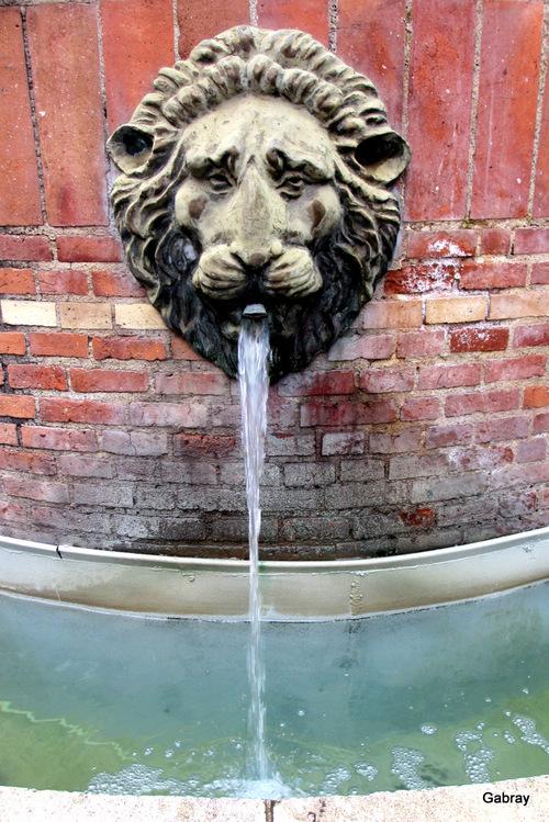 Toulouse: fontaine de la rue Boulbonne...
