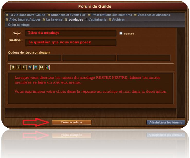 Le forum de la Guilde