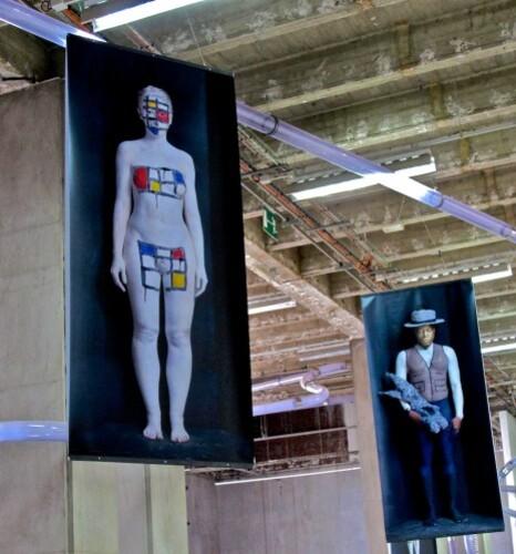 Tokyo Olaf Breuning freaks Mondrian Beuys